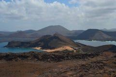 Vista da ilha de Bartolome Fotografia de Stock