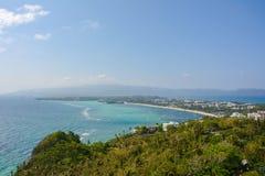 Vista da ilha de Boracay em Filipinas foto de stock royalty free