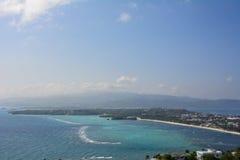 Vista da ilha de Boracay em Filipinas fotografia de stock royalty free