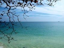 Vista da ilha de Samed Fotos de Stock