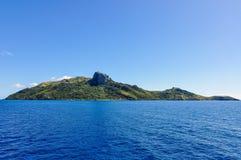 Vista da ilha de Waya Lailai em Fiji Fotografia de Stock Royalty Free