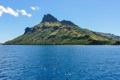 Vista da ilha de Waya Lailai em Fiji imagens de stock royalty free