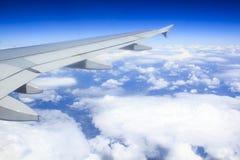 Vista da janela do avião Fotografia de Stock Royalty Free