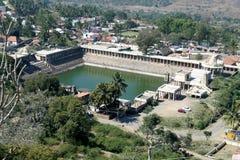 Vista da lagoa do templo Fotos de Stock