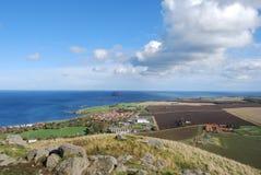 Vista da lei de Berwick Foto de Stock Royalty Free