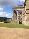 Vista da mansão fotografia de stock royalty free