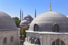 Vista da mesquita de Sultanahmet Imagem de Stock