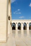 Vista da mesquita do al-Hakim fotografia de stock royalty free