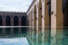 Vista da mesquita do al-Hakim fotografia de stock