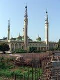 Vista da mesquita grande em Conakry fotos de stock