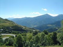 Vista da Mont Louis 2 Immagini Stock