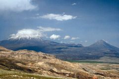Vista da montagem Ararat Imagens de Stock