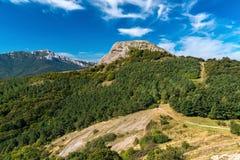Vista da montagem Baldy Ivan Fotografia de Stock Royalty Free