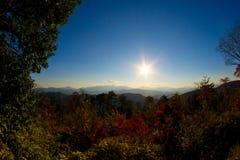 Vista da montagem Takao Fotografia de Stock Royalty Free