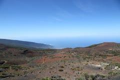 Vista da montagem Teide Imagens de Stock