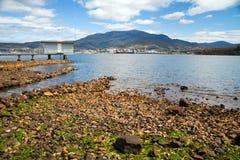 Vista da montagem Wellington fotografia de stock royalty free