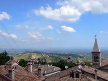 Vista da montanha fotografia de stock royalty free