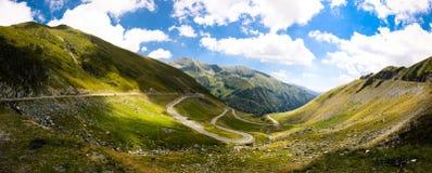 Vista da montanha Imagem de Stock Royalty Free