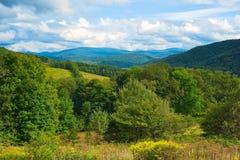 Vista da montanha de Catskills Imagem de Stock Royalty Free
