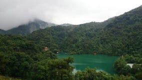 A vista da montanha de dinghu Fotos de Stock Royalty Free