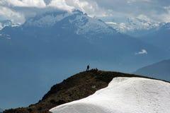 Vista da montanha de Garibaldi Imagem de Stock