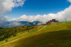 Vista da montanha de Gerlitzen fotos de stock