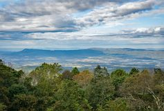 Vista da montanha de Massanutten fotos de stock royalty free