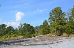 Vista da montanha de pedra Fotografia de Stock