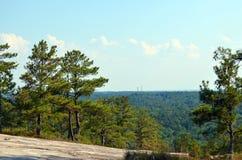 Vista da montanha de pedra Imagem de Stock