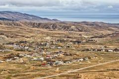 Vista da montanha Uzun Sirt Imagem de Stock Royalty Free