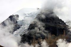 Vista da Murren sulla montagna svizzera Grosshorn Immagine Stock