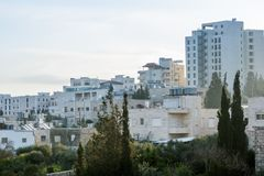 Vista da natività dell'hotel - destra Fotografia Stock