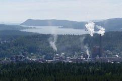 Vista da Oernskoldsvik Svezia Immagine Stock