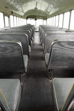 Vista da parte de trás do ônibus Imagem de Stock Royalty Free