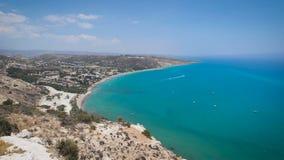 Vista da parte superior de um monte, Chipre filme