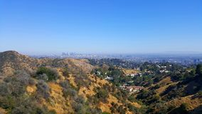 Vista da parte superior do monte em Los Angeles Fotografia de Stock Royalty Free