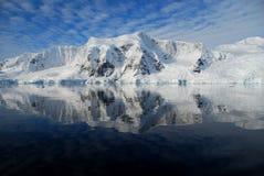 Vista da península antárctica Imagem de Stock Royalty Free
