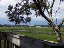 Vista da ponte Imagem de Stock Royalty Free
