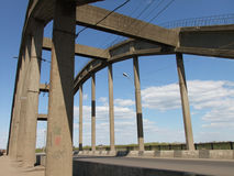 Vista da ponte Foto de Stock Royalty Free