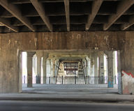 Vista da ponte Imagens de Stock Royalty Free