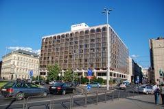 Vista da ponte Chain de Sofitel Budapest do hotel Imagens de Stock Royalty Free