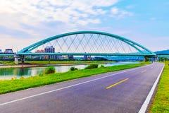 Vista da ponte crescente fotos de stock