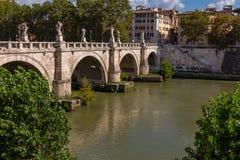 Vista da ponte de Aelian imagem de stock royalty free