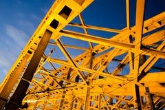 Vista da ponte de Hohenzollern imagens de stock