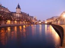Vista da ponte de Pont Neuf Fotografia de Stock Royalty Free