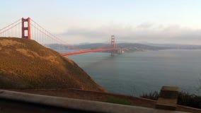 Vista da ponte de porta dourada Foto de Stock Royalty Free
