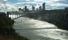 Vista da ponte do arco-íris Imagem de Stock Royalty Free