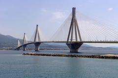 Vista da ponte moderna foto de stock