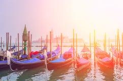Vista da praça San Marco, Veneza fotografia de stock