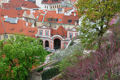 Vista da Praga velha Imagens de Stock